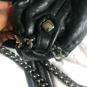 MCM Bags - Leather MCM cross body with Chain Strap
